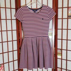 Polo by RL girls striped circular dress 12/14